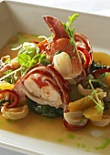 Lobster Salad Appetizer