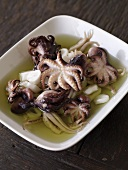 Bowl of Squid in Broth