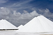 Mountains of Salt on Salt Flat