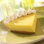 Single Slice of Key Lime Pie