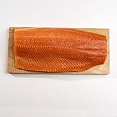 Salmon Fillet on Cedar Plank