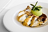 Elegant Sliced Chicken Dish