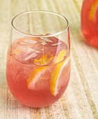 Glass of Cranberry Lemonade