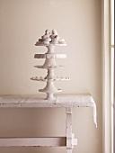 Sugar Donuts on Tall Pedestal Dish