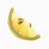 Lemon Wedge with Seeds