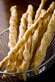 Twisted Parmesan Bread Sticks