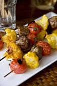 Beef, Cauliflower and Tomato Kebab