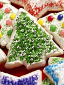 Decorated Christmas Cookies, Christmas Tree Cookie