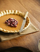 Pumpkin Pie mit Cranberries (USA)