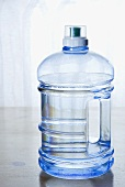Water in Plastic Bottle with Handle
