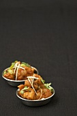 Gobi Manchurian (süss-würzig frittierter Blumenkohl, Indien)