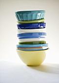 Various Bowls; Stacked