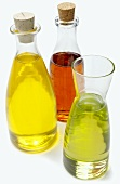 Three Bottles of Assorted Oils