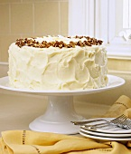 Whole Carrot Cake with Cream Cheese Frosting