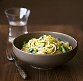 Linguine with Gorgonzola and Sage