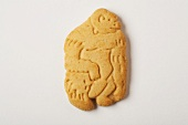 Gorilla Animal Cracker on White
