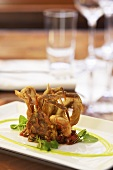 Soft Shell Crab with Smoked Tomato