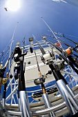 Deep Sea Fishing Rods on Boat