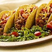 Sausage Tacos on a Platter