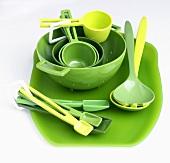 Green Kitchenware