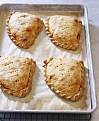 Empanadas on a Baking Pan