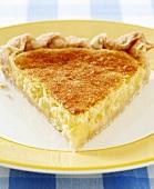 Lemon,Sponge,Pie,Slice,Custard