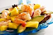 Shrimp, Mango and Avocado Salad