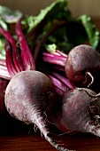 Fresh Beets with Greens