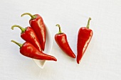 Hungarian Red Peppers