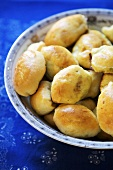 Baked Pirozhki with Egg and Scallion Filling