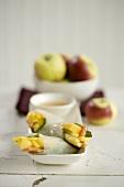 Papaya and Mint Rolls