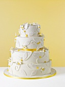 Pretty Lemon Wedding Cake