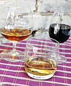 Cordials; Port, Whiskey and Cognac