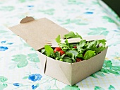 Field Green Salad in Carry Out Container