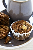 Banana and Molasses Muffins