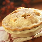 Small Apple Pie with Star Cut Outs