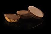 Three Peanut Butter Cups; One Bitten