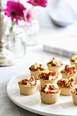 Mexican Style Pastry Cup Hors d'Oeuvres