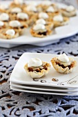 Phyllo Cups with Spicy Bean Filling