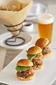Sliders with Beer
