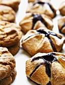 Blackberry Rustic Fruit Tarts and Ginger Cookies