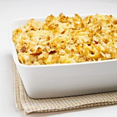 Baked Mac and Cheese in Baking Dish