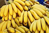 Bananas on a market stall (Italy)