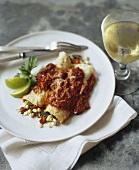 Vegan Veggie Enchiladas with White Wine
