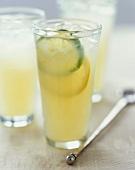 Glasses of Limeade