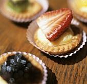 Mini Custard Pastries with Fruit