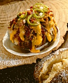 Baked Potato with Lots of Toppings