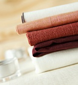 Stacked Table Linens