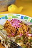 Traditional Cochinita Taco