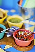 Pico de Gallo; Assorted Southwestern Condiments